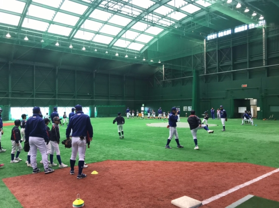 Honda社会人野球教室